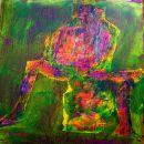 Menschenbilder 1 - Acryl auf Leinwand - 40 x 30 cm
