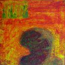 Menschenbilder 16 - Acryl auf Leinwand - 40 x 30 cm