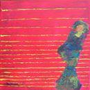 Menschenbilder 23 - Acryl auf Leinwand - 40 x 30 cm
