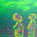 Menschenbilder 24 - Acryl auf Leinwand - 40 x 30 cm