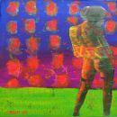 Menschenbilder 26 - Acryl auf Leinwand - 40 x 30 cm