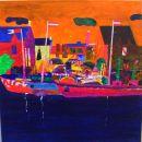 Hafen in Orange