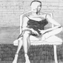 Romy S: (Romy Schneider) - 1986 - 65 x 85 cm